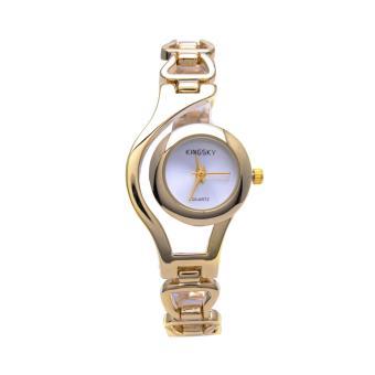 Đồng hồ nữ KINGSKY kết hợp lắc tay thời trang MKS001 (Vàng) - 8212943 , JU025OTAA35UPBVNAMZ-5520250 , 224_JU025OTAA35UPBVNAMZ-5520250 , 509000 , Dong-ho-nu-KINGSKY-ket-hop-lac-tay-thoi-trang-MKS001-Vang-224_JU025OTAA35UPBVNAMZ-5520250 , lazada.vn , Đồng hồ nữ KINGSKY kết hợp lắc tay thời trang MKS001 (Vàng)