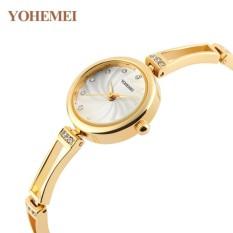 Giảm Giá Đồng hồ nữ lắc tay đính đá YOHEMEI CH374 – D7A  Tini shop