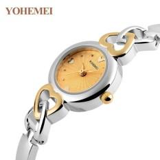 Giá Sốc Đồng hồ nữ lắc tay đính đá YOHEMEI CH376 – 9A  Tini shop