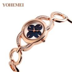 So Sánh Giá Đồng hồ nữ lắc tay đính đá YOHEMEI CH379 – 1A  Tini shop