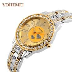 Giá Đồng hồ nữ lắc tay đính đá YOHEMEI CH383 – 9A  Tini shop
