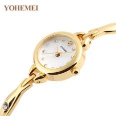 Nơi Bán Đồng hồ nữ lắc tay đính đá YOHEMEI CH384 – 7A  Tini shop