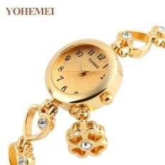 Cập Nhật Giá Đồng hồ nữ lắc tay đính đá YOHEMEI CH385 – 9A  Tini shop