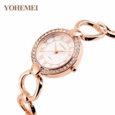 Giảm Giá Đồng hồ nữ lắc tay đính đá YOHEMEI CH386 – 7A  Tini shop