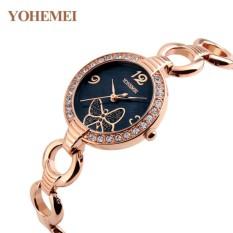 Giá Khuyến Mại Đồng hồ nữ lắc tay đính đá YOHEMEI CH388 – 1A  Tini shop