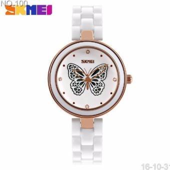 Đồng hồ nữ Skmei kim cánh bướm CH286