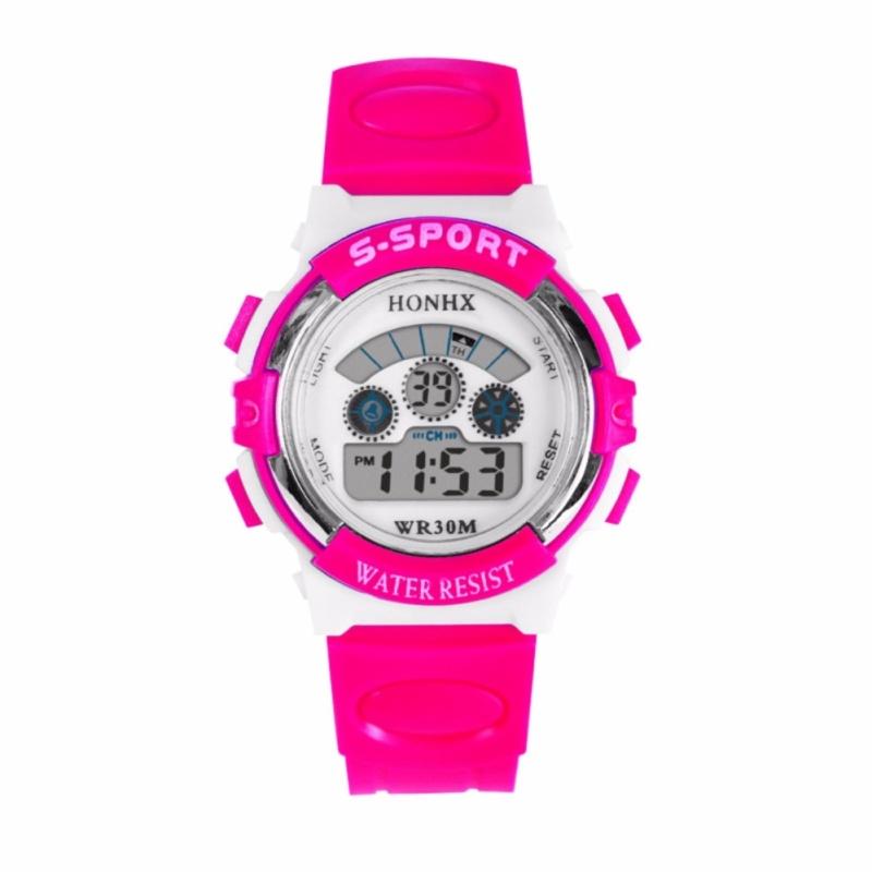 Đồng hồ thể thao cho bé gái (Hồng) bán chạy