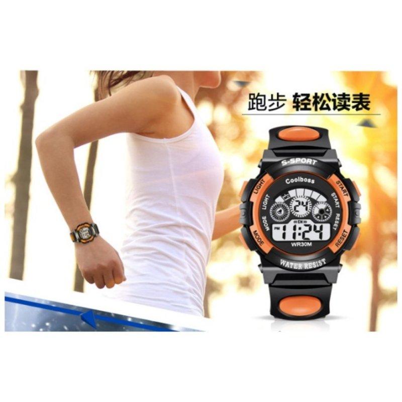 Đồng hồ thể thao Coolboss 0119 (Cam) bán chạy