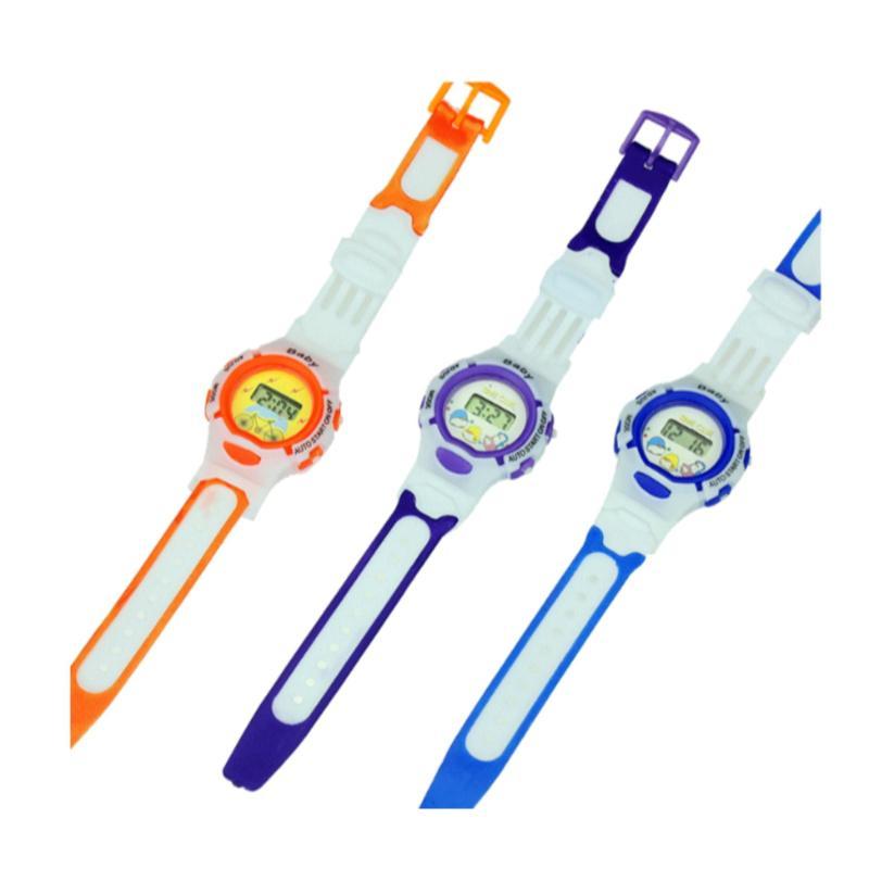 Đồng hồ thể thao dây nhựa trẻ em BABY (Xanh) bán chạy