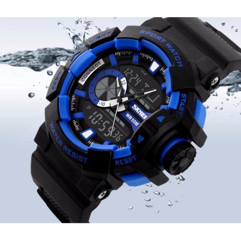 Nơi bán Đồng hồ thể thao đồng hồ chống nước skmei 1117 (Xanh)PhuongThaoShop