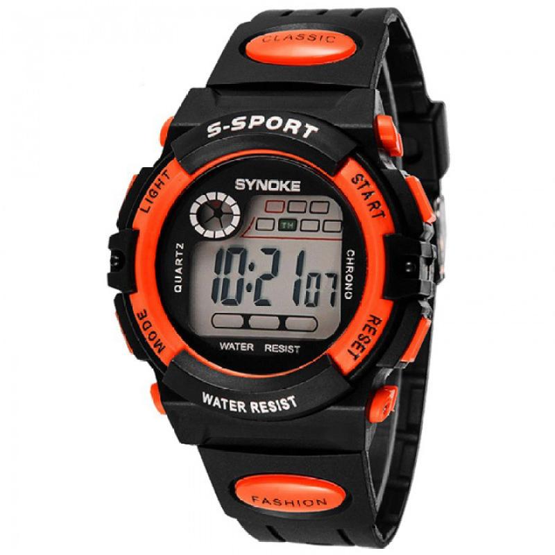 Đồng hồ thể thao Synoke trẻ em 99269 (Cam) bán chạy
