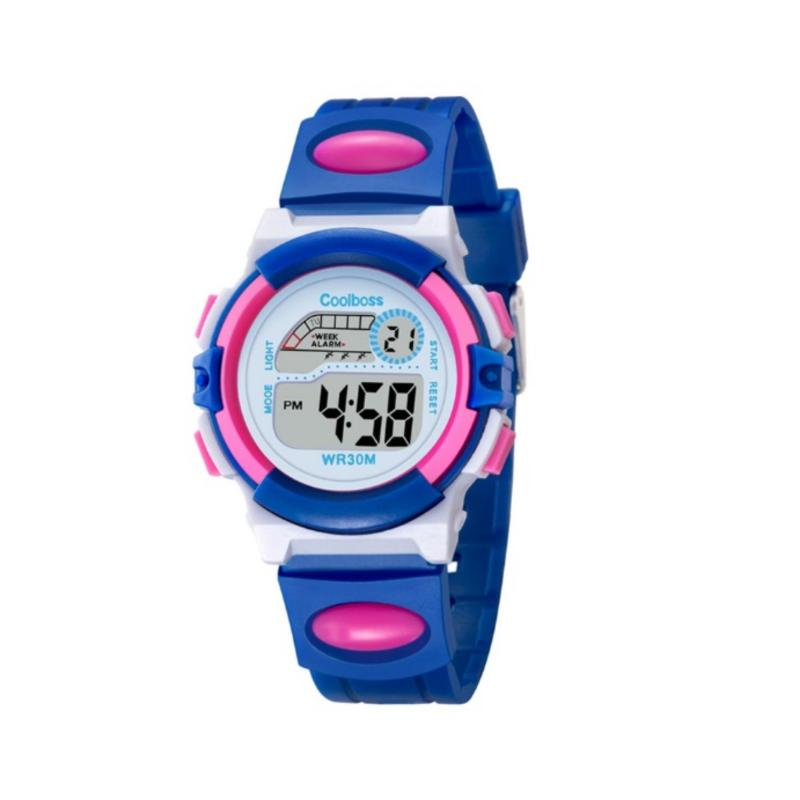 Đồng hồ thể thao trẻ em CoolBoss 0916 (Xanh) bán chạy