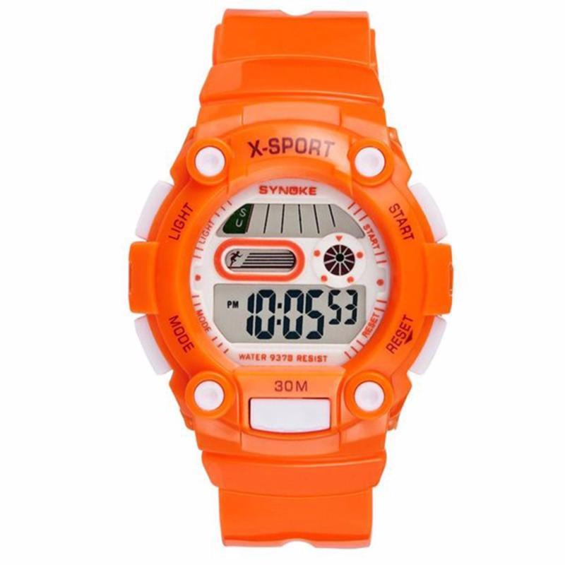 Nơi bán Đồng hồ thể thao trẻ em S9378 (màu cam)