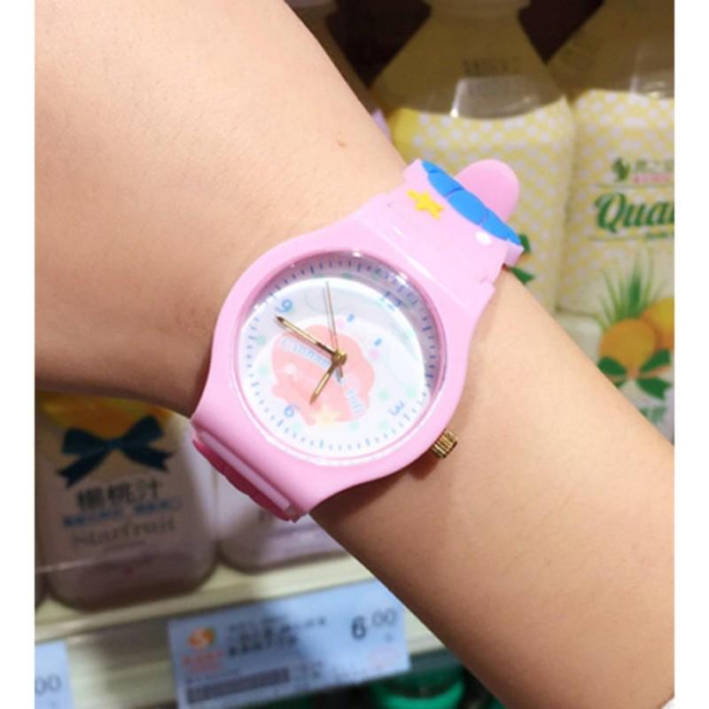 Đồng hồ thời trang dây cao su trẻ em G258 (Hồng) bán chạy