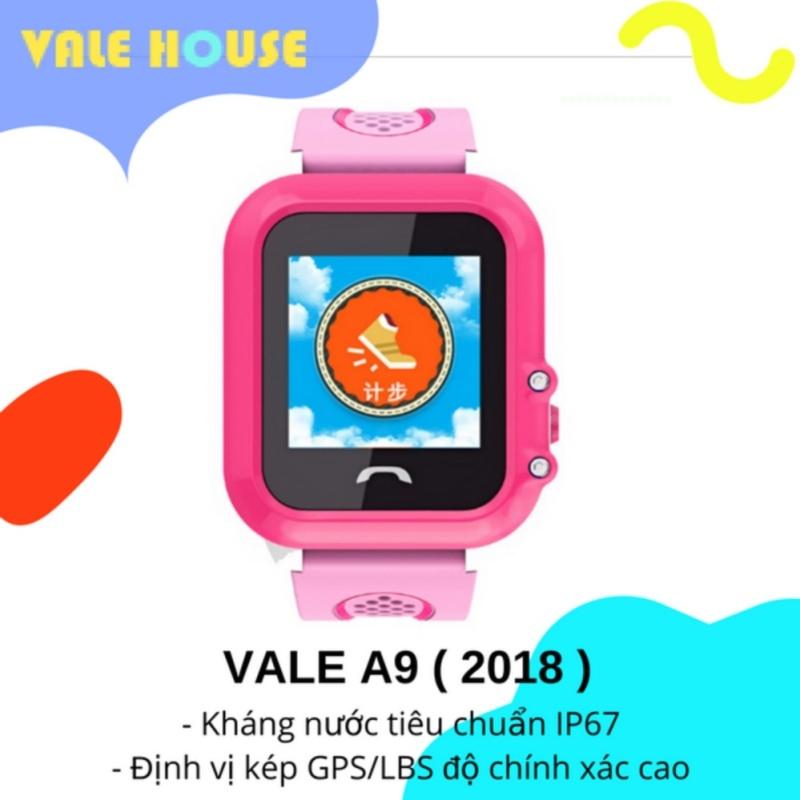 Đồng hồ thông minh gọi điện, định vị GPS trẻ em VALE A9 ( Hồng Cánh Sen ) bán chạy