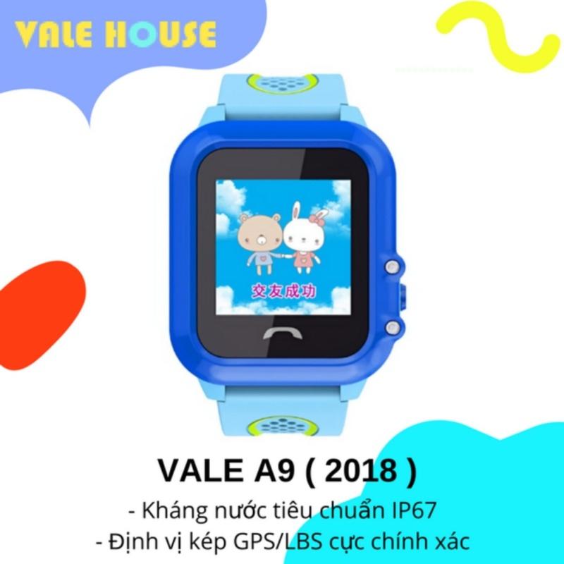 Đồng hồ thông minh gọi điện, định vị GPS trẻ em VALE A9 ( Xanh Đại Dương ) bán chạy