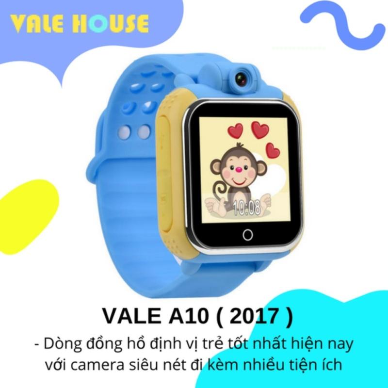 Đồng hồ thông minh gọi điện, định vị trẻ em VALE A10 ( Xanh Nước Bẻn ) bán chạy
