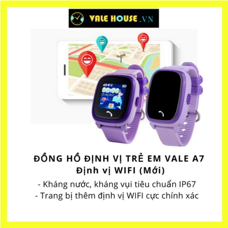 Đồng hồ thông minh trẻ em VALE A7 BẰNG LĂNG TÍM 6871 bán chạy