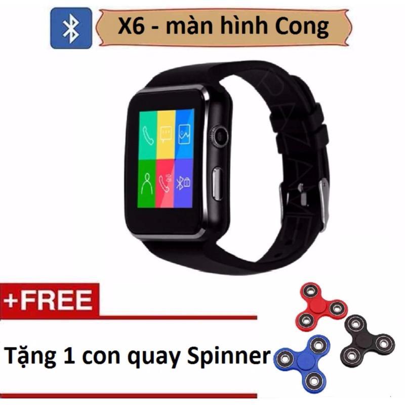 Đồng hồ thông minh X6 màn hình cong tặng Con quay Spinner bán chạy