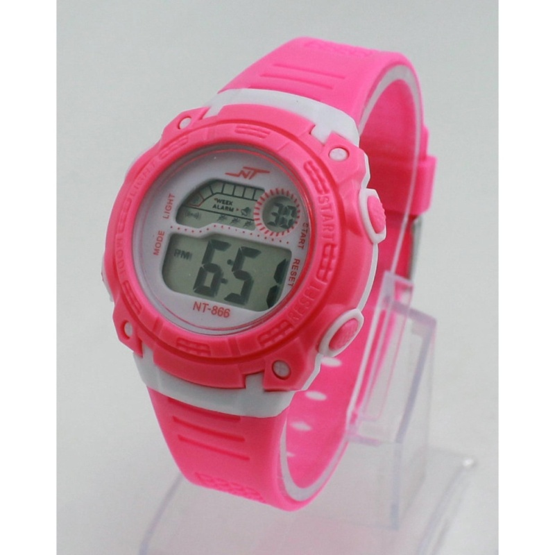 Đồng hồ trẻ em dây cao su NT866 bán chạy