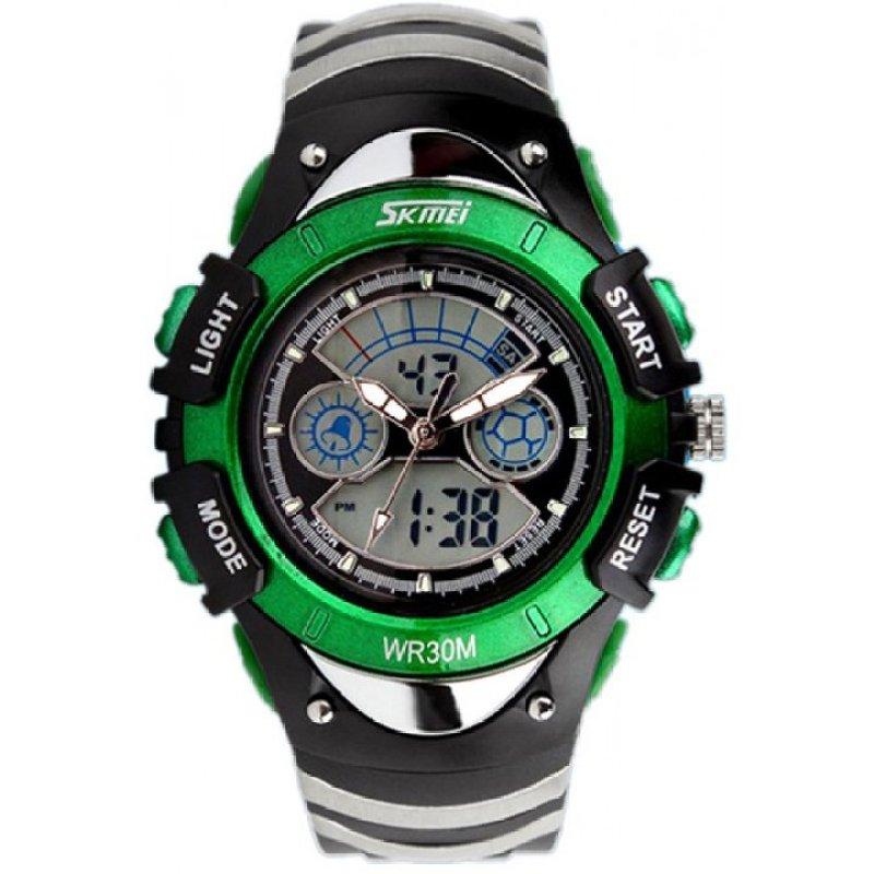 Đồng hồ trẻ em  dây cao su Skmei 0998 Xanh bán chạy