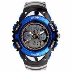 Đồng hồ trẻ em dây cao su Skmei 0998 (Xanh dương)