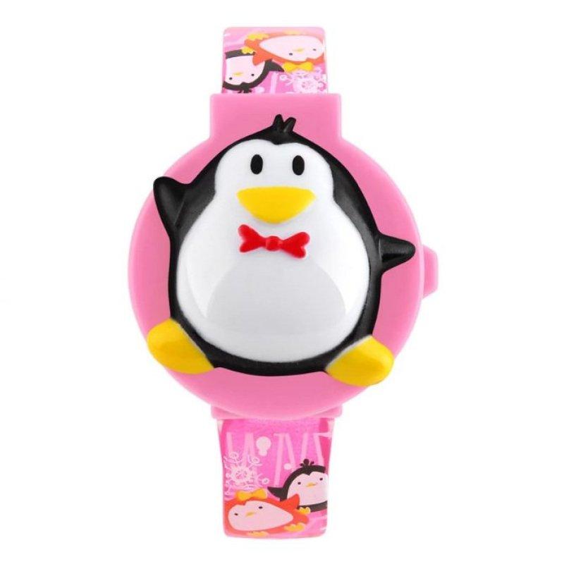 Đồng hồ trẻ em dây nhựa 1151 (Hồng) bán chạy