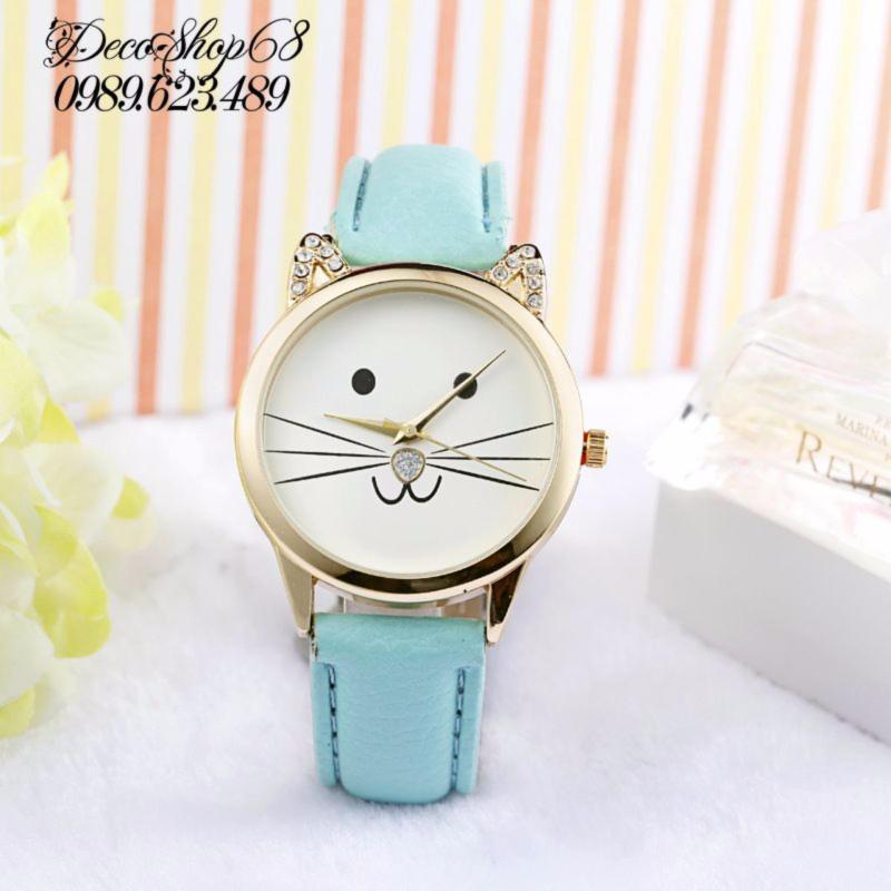 Nơi bán Đồng hồ trẻ em Decoshop68 W11-X màu xanh giá tốt