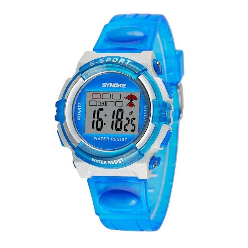 Nơi bán Đồng hồ trẻ em Synoke size nhỏ  SY99268 (Xanh da trời)