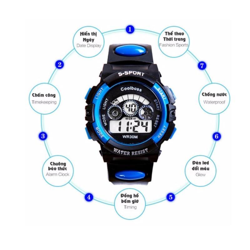 Đồng hồ trẻ em thể thao chịu nước bán chạy