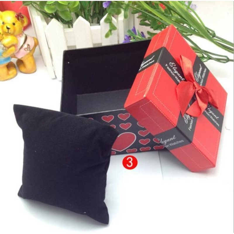 Durable Present Gift Box Case For Bracelet Bangle Jewelry Watch Box - intl bán chạy