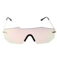 Báo Giá European Unisex Personalized Two-beam Mirror Sunglasses (Pink Quicksilver) – intl  crystalawaking