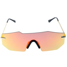 So Sánh Giá European Unisex Personalized Two-beam Mirror Sunglasses(Red)-one size – intl  UNIQUE AMANDA