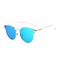 Giá Niêm Yết Female New Arrival Cat Eye Glasses Model Show Chic Arrow Sunglasses(Blue)-one size – intl   UNIQUE AMANDA