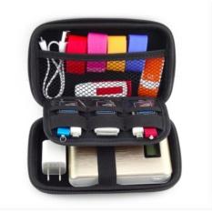 Cập Nhật Giá FREE Data Cable + Waterproof 2.5 Inch Travel Electronics Digital Gadgets Organizer Bag StorageHard Case (Black) – intl  DreamsBrand