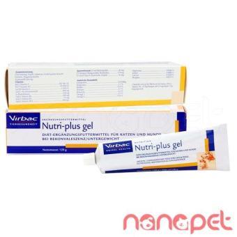 Gel Dinh Dưỡng Cho Chó Mèo Virbac Nutri Plus 120g