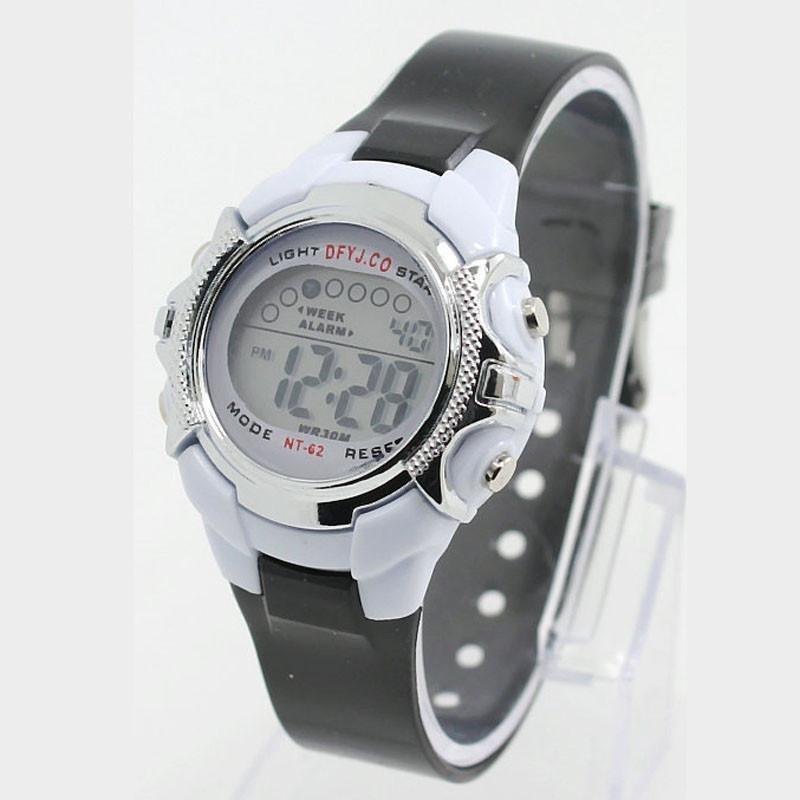 Nơi bán Girl Boy Alarm Date Digital Multifunction Sport LED Light Wrist Watch TR - intl