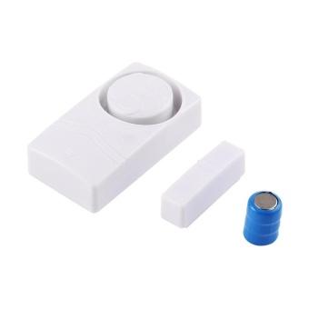 GOOD 110dB Low Power Hint Door-close Hint Alarm Continually Door & Curtain Alarm White - intl