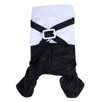 HAOFEI Pet Dog Gentleman Suit Clothes Jumpsuit Bow TieTuxedoT-ShirtCostume S - intl - 8593974 , OE680OTAA7BYJ3VNAMZ-13555223 , 224_OE680OTAA7BYJ3VNAMZ-13555223 , 586000 , HAOFEI-Pet-Dog-Gentleman-Suit-Clothes-Jumpsuit-Bow-TieTuxedoT-ShirtCostume-S-intl-224_OE680OTAA7BYJ3VNAMZ-13555223 , lazada.vn , HAOFEI Pet Dog Gentleman Suit Clothe