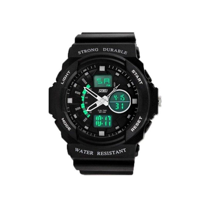 Nơi bán hiiopiio Mens Outdoor Military Sport Wrist Watches(White) - intl