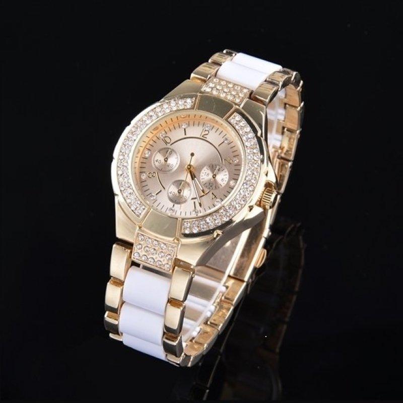 Nơi bán Jo.In Women Casual Watch Wristwatch Alloy Elegant Quartz Watch (Gold) - intl