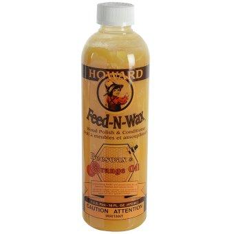 Kem làm bóng và dưỡng ẩm cho gỗ Howard Feed-N-Wax FW0008 236ml