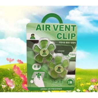 Kẹp khử mùi và làm thơm cho xe hơi Air Vent Clip Korea ( Green Apple ) - 8167232 , GO328OTAA4Q99PVNAMZ-8702360 , 224_GO328OTAA4Q99PVNAMZ-8702360 , 250000 , Kep-khu-mui-va-lam-thom-cho-xe-hoi-Air-Vent-Clip-Korea-Green-Apple--224_GO328OTAA4Q99PVNAMZ-8702360 , lazada.vn , Kẹp khử mùi và làm thơm cho xe hơi Air Vent Clip Korea ( G