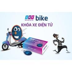 Khóa chống trộm xe máy thẻ từ Iky Bike( Bảo hành 2 năm)