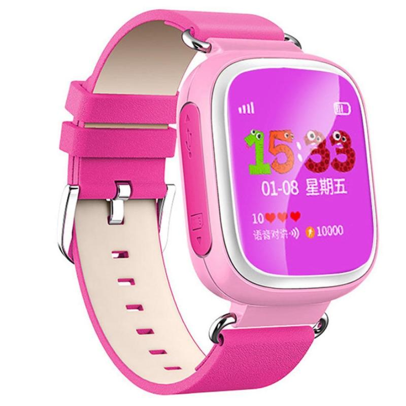 Kids Child Cute Smart Watch GPS AGPS LBS Tracker Anti-lost Locater Real-time Monitor SOS Emergency Phone Calling Historical Trajectory Remote Monitoring 1.44inches Large Screen Wrist Watch Gift for iP bán chạy