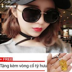 Giảm Giá Kính mát cá tính Unisex Sino S01-0044+Tặng kèm vòng cổ tỳ hưu vàng  Hoàng Kim Digital