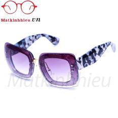 Giá Kính mát nữ MKH 7214C (Đen vân)  Mat Kinh Hieu (Tp.HCM)