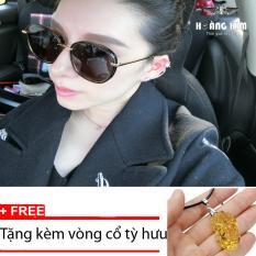 So Sánh Giá Kính mát Unisex Sino S01-1044+Tặng kèm vòng cổ tỳ hưu vàng  Hoàng Kim Digital