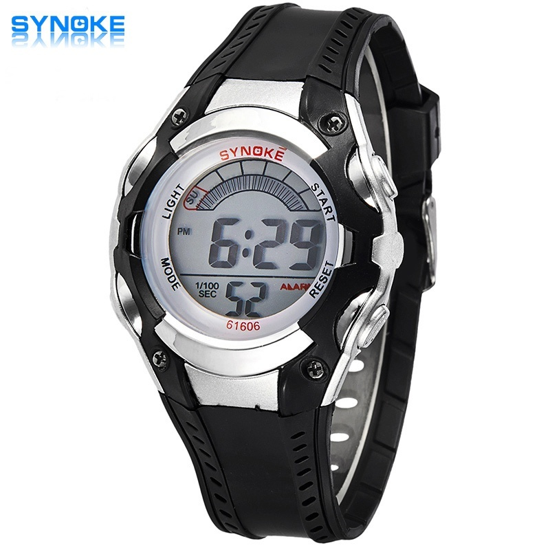 LED Digital Sport Students Children Watch Jam Tangan Kids Watch Jam Tangan es Boys Girls Clock Child Electronic Wrist Watch Jam Tangan for Boy Girl Surprise Gift C61606 - intl bán chạy