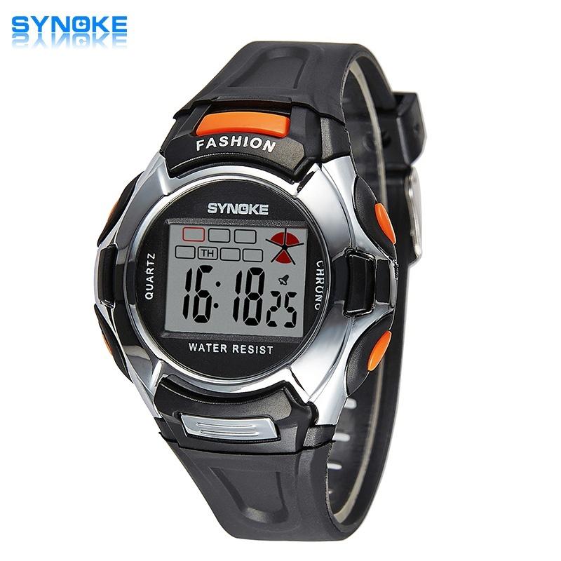 Nơi bán LED Digital Sport Students Children Watch Jam Tangan Kids Watch Jam Tangan es Boys Girls Electronic Wrist Watch Jam Tangan for Boy Girl Clock Surprise Gift 99329 - intl